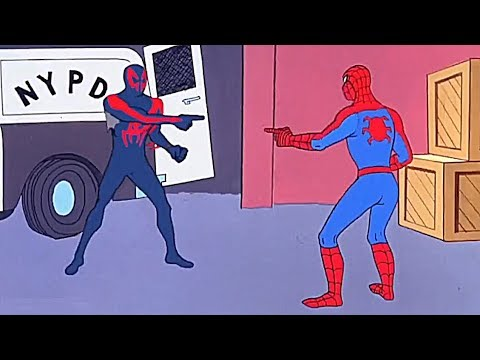 """""""Spider-Man 2099 Goes To Earth67 *Post End Credit* - [Spider-Man Into The Spiderverse] (HD)"""