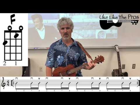 Johnny Cash Ukulele Rhythm (Chords and Notation)