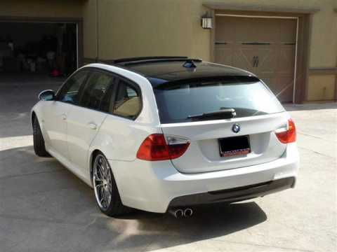 Sick Bmw E91 White Youtube