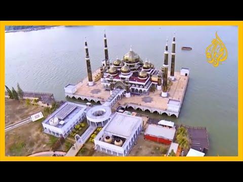 ???? تعرف على المسجد البلوري في ماليزيا