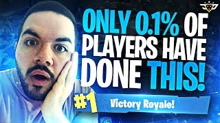 ONLY .1% OF PLAYERS HAVE DONE THIS - ***NOT CLICKBAIT*** (Fortnite: Battle Royale)
