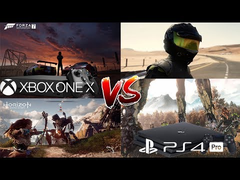 xbox one x vs ps4 pro horizon vs forza motorsport 7 m s. Black Bedroom Furniture Sets. Home Design Ideas