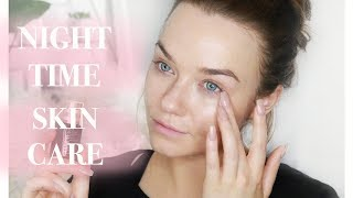 Night Time Evening Skincare Routine For Flawless Skin