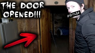 THE DOOR OPENED!!!   Paranormal Activity at Haunted Blacksmith Shop   Part 2