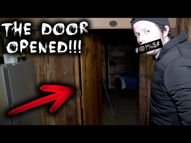 THE DOOR OPENED!!! | Paranormal Activity at Haunted Blacksmith Shop | Part 2