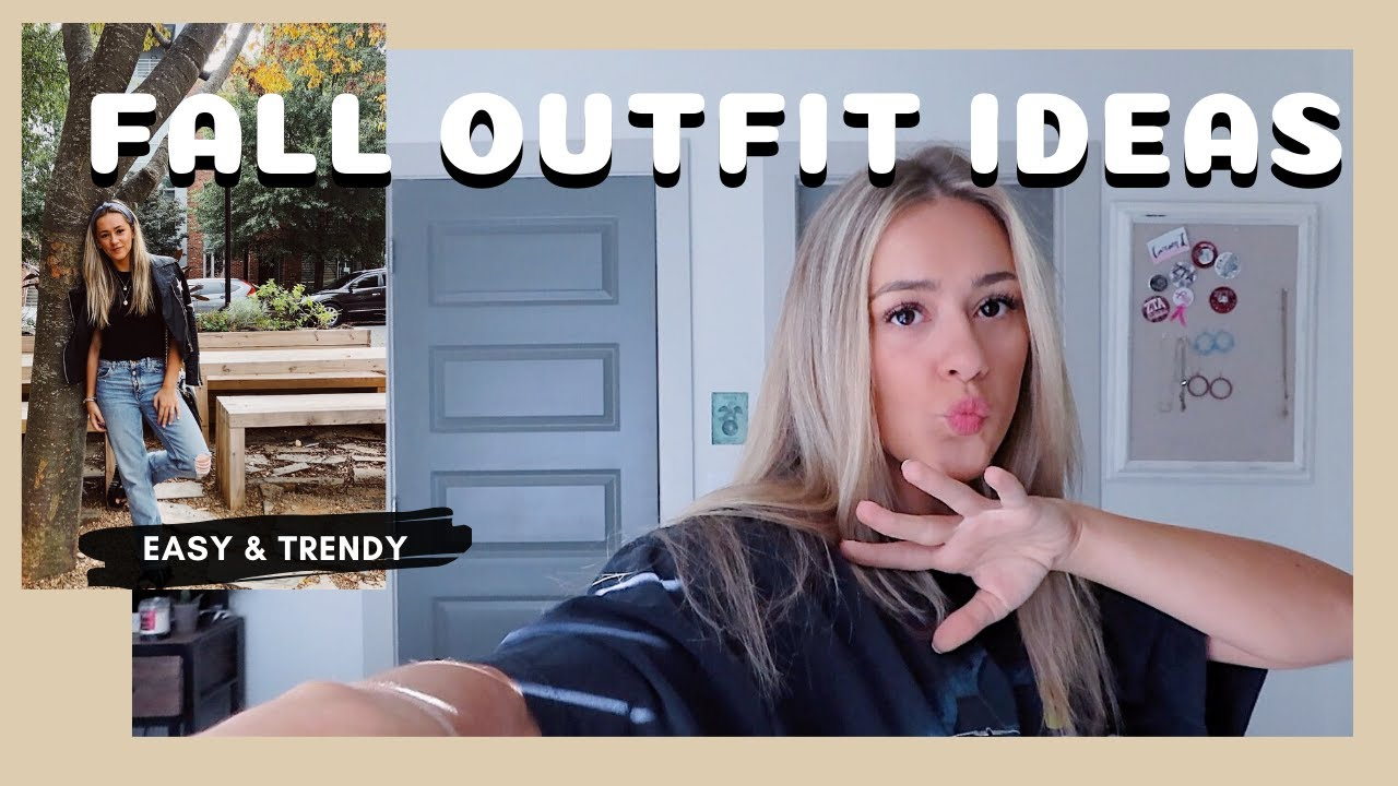 [VIDEO] - 7 CUTE FALL OUTFIT IDEAS | easy, simple, trendy 6