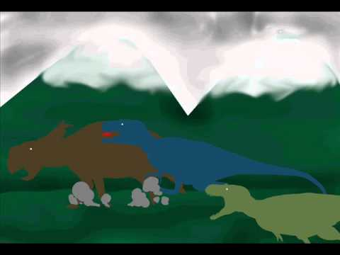 Prehistoric Art - Polar Tyrants Hunting