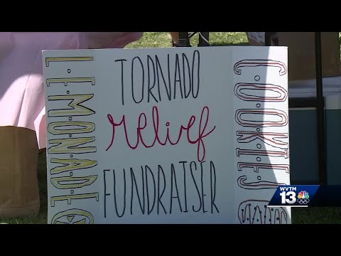 Oak Mountain Middle School students come together to help community affected by tornados