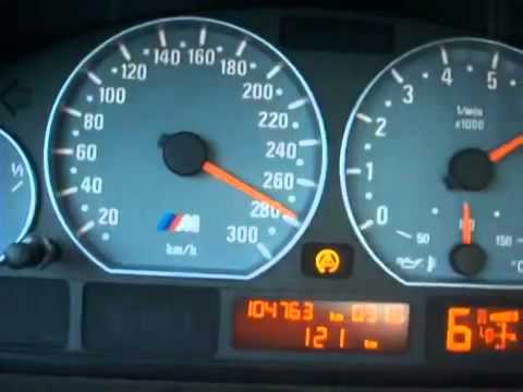 Top Speed Of Bmw M3 E46 0 301km H Great Youtube