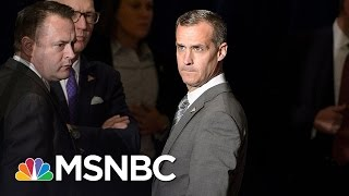 Corey Lewandowski Defends Trump's Attacks On FBI