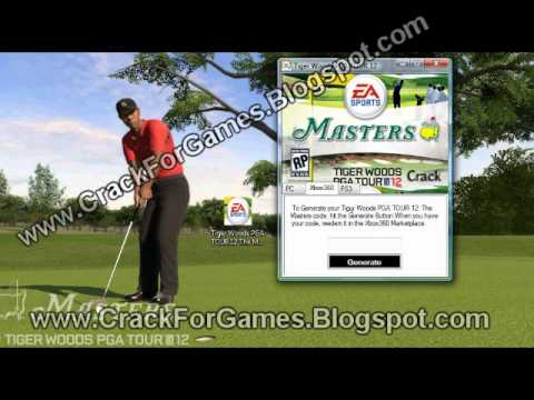 Crack Download For Tiger Woods PGA Tour 12 The Masters