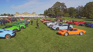 Supercars at Blenheim palace 4K SCC Private Club