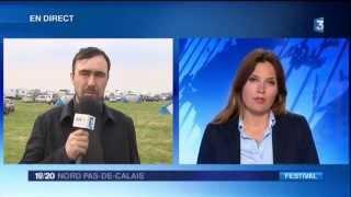 Teknival du 1er Mai 2015 + Interview Freeform - Reportage France 3