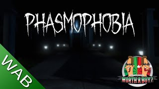 Phasmophobia Review - Runs with or without VR (Video Game Video Review)