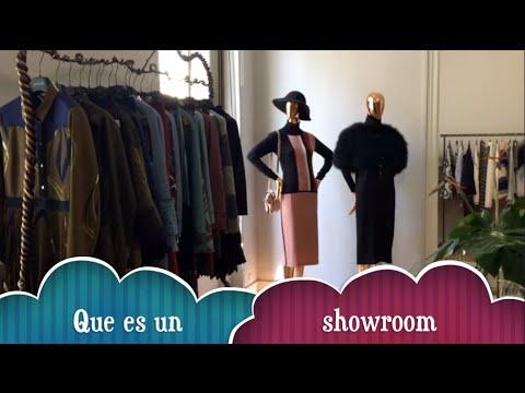 Que es un showroom y como funciona. María Esteve