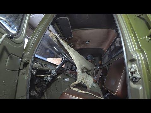 Реально ли переночевать в кабине ГАЗ 66