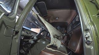 Реально ли переночевать в кабине ГАЗ 66?