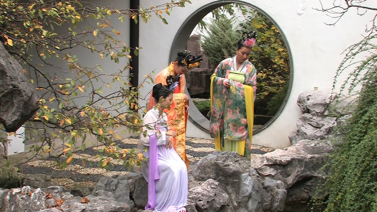 Celebrating Autumn Moon Festival At New York Chinese Scholar 39 S Garden Youtube
