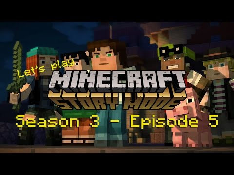 Let's Play Minecraft Storymode  #S3E5- Super TNT - Rich-Chriz [Deutsch] [HD]