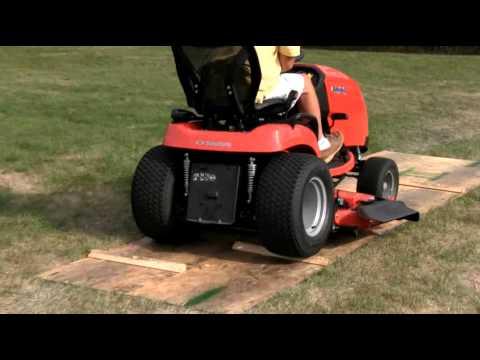 Simplicity's New Tractor Suspension