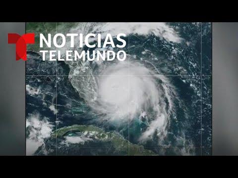 Huracán Dorian: Residentes de EEUU se alistan para su llegada | Noticias Telemundo