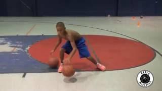 天才だって努力している!12歳の天才バスケ少年の練習風景