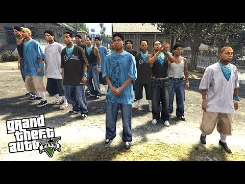 JOINING A GANG - FINDING A NEW GANG!! (GTA 5 Mods)