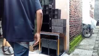 cek sound mini miniatur ramayana sound system