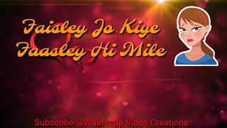 Tere Mere Song || Neeti Mohan || Whatsapp Status Video || With Download Link