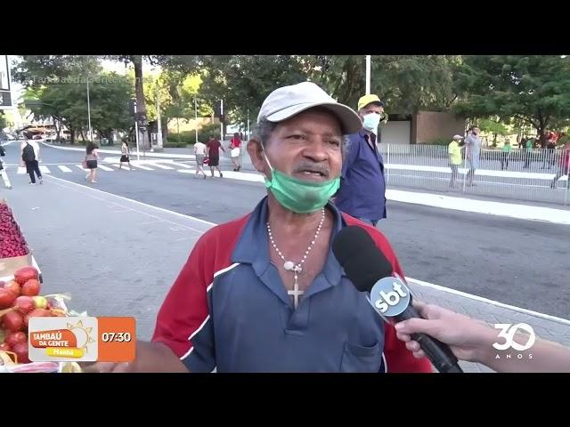 Número de ambulantes aumenta, apesar do reordenamento no Parque da Lagoa - Tambaú da Gente Manhã