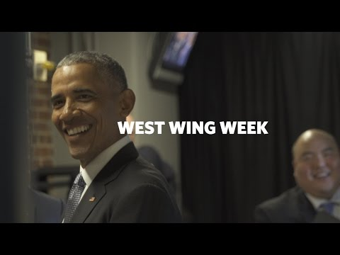 "Thumbnail: West Wing Week: 01/06/17 or, ""It's 2017!"""
