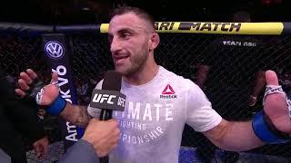UFC 237: Alexander Volkanovski Octagon Interview