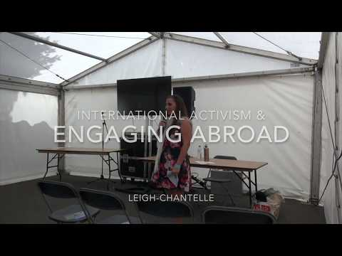 International Activism & Engaging Abroad talk at VegFest UK