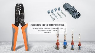 IWISS IWS 1424B WEATHER PACK METRI PACK CRIMPING TOOL
