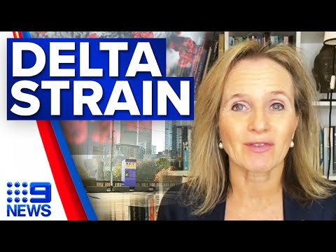 Delta COVID-19 strain puzzling authorities   Coronavirus   9 News Australia