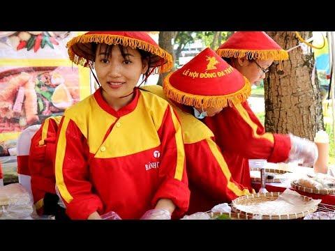 Vietnamese Fresh Spring Roll - Festival Street Food Vietnam 2018 - 동영상