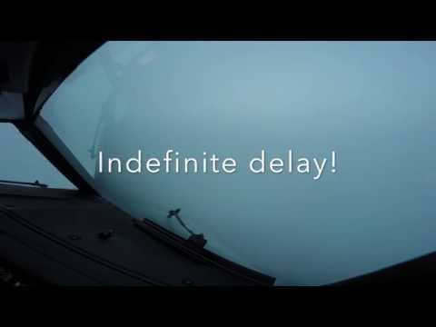 Diversion due severe weather at Schiphol airport