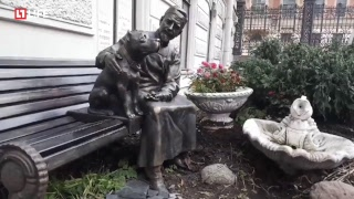 Памятник героям «Собачьего сердца»