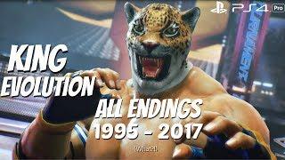 TEKKEN SERIES - All King + Armor King Endings 1995 - 2017 [1080P 60FPS] PS4 Pro