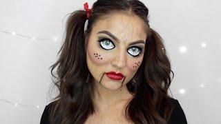 Creepy Doll Makeup | Halloween Tutorial