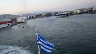 Leaving Piraeus Port