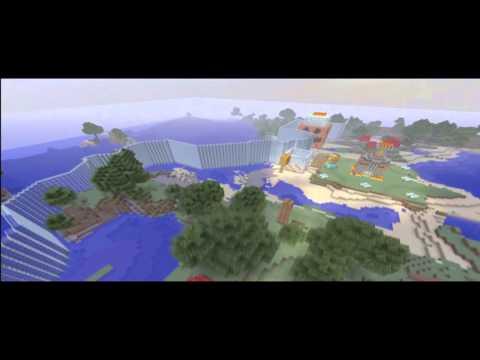 Minecraft Xbox 360 - Los Juegos del Hambre v12 y Skin Pack 3 | Mapas Descargables