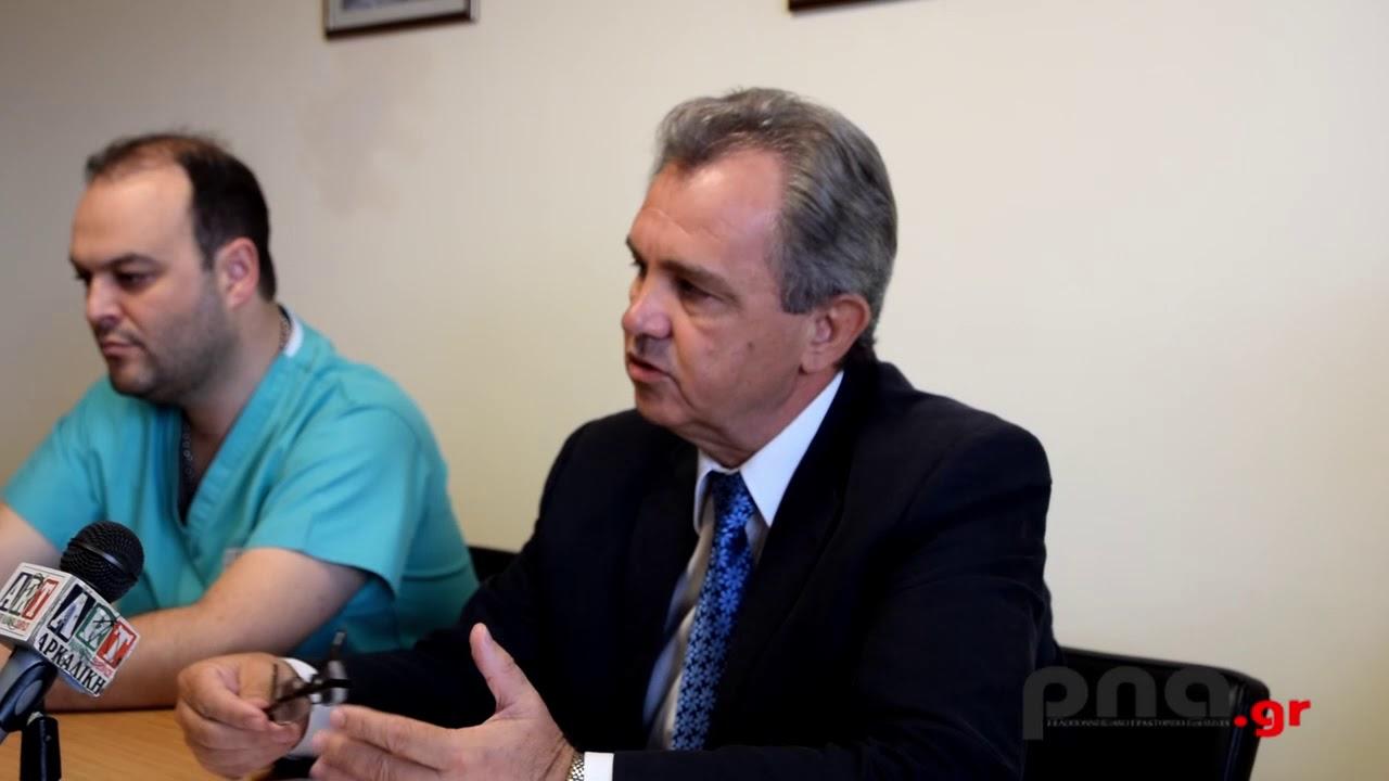 Πέτρος Τομάρας: Το Παναρκαδικό νοσοκομείο είναι απόλυτα ασφαλές