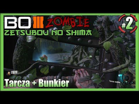 Call Of Duty Black Ops III Zombie - Tarcza + Wszystkie Lokacje : Zetsubou No Shima #2