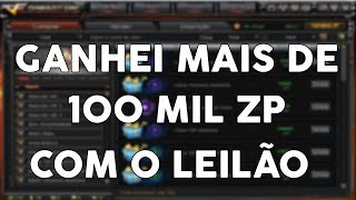 [CF/AL] MÉTODO QUE USEI PARA GANHAR 100 MIL ZP DE GRAÇA COM O LEILÃO!!!