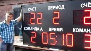Спортивное табло (2400х1200х130мм)(, 2014-08-02T11:26:06.000Z)
