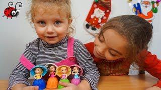 Mini Papusi Briose  Cupcake Surprise   Melissa e foarte Entuziasmata!