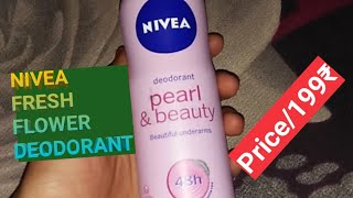 nivea fresh flower deodorant UnBox And Reviews, by tech Digital Prime