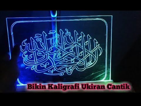 Make Beautiful Light Calligraphy Carving