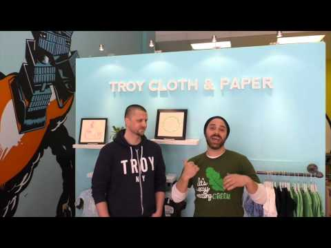 The Vegan Roadie - Troy Cloth and Paper Short